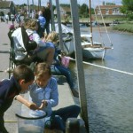 Crabbing on 'The Quay'