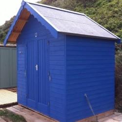 Richard's beach hut