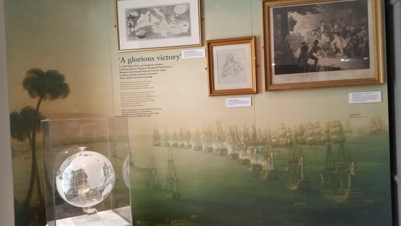 A section of the exhibitions