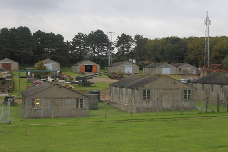 The remaining original camp buildings