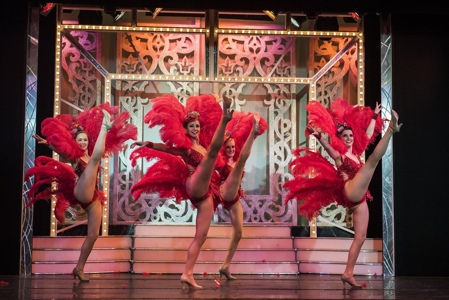Cromer Pier Show dancers