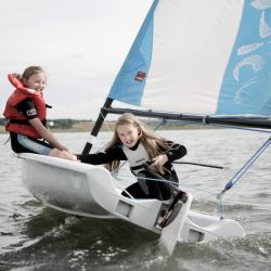 Children sailing at Norfolketc