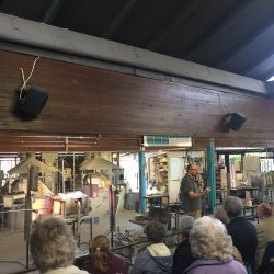 Demonstrations at Langham Glass