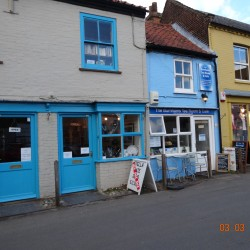 Local shops and cafes in Holt