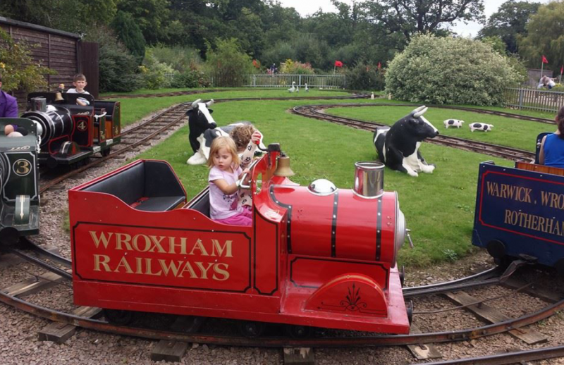 Summer on the miniature train