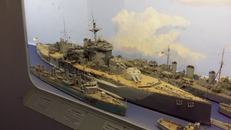 Some of the naval models
