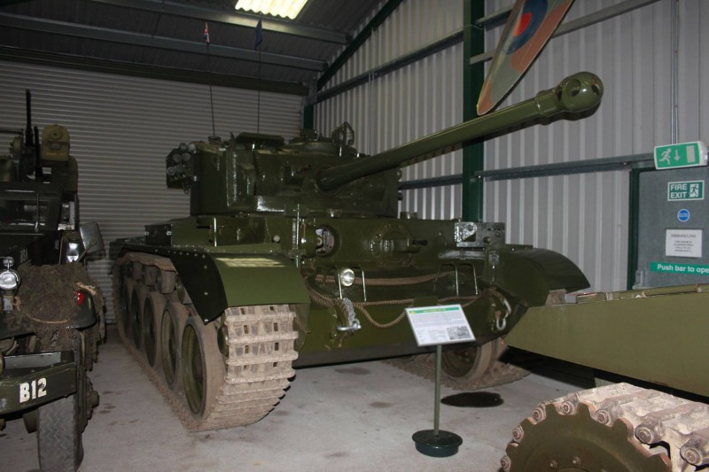 One of the tanks from the collection