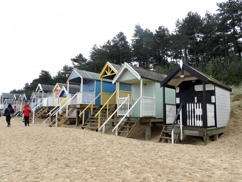 Blakeney Beach huts