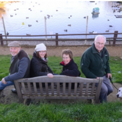 Blakeney Duck Pond volunteers